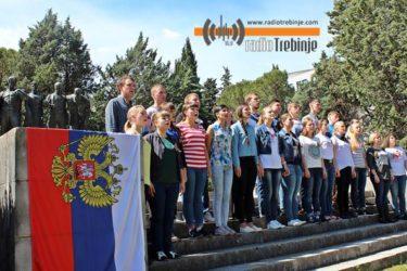 Први пут са Русима: У Требињу обиљежен Дан побједе