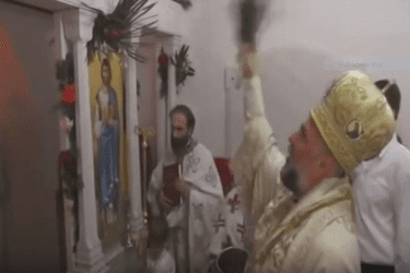 ВЛАДИКА ГРИГОРИЈЕ НА ЗАГОРИ: Освештан иконостас у цркви Цара Константина и Царице Јелене (ВИДЕО)