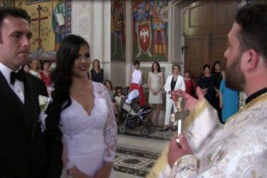 ВИДЕО: Србин са Флориде вјенчао се са Колумбијком у Требињу