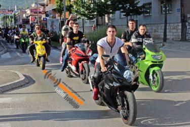 Хиљаду бајкера на улицама Требиња