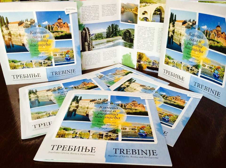 ТУРИСТИЧКА ОРГАНИЗАЦИЈА ТРЕБИЊА: Нови каталог за нову сезону