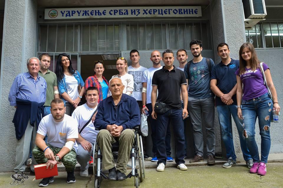 ХУМАНОСТ НА ДЈЕЛУ: Млади Херцеговци у Новом Саду даровали 22 дозе крви (ФОТО)
