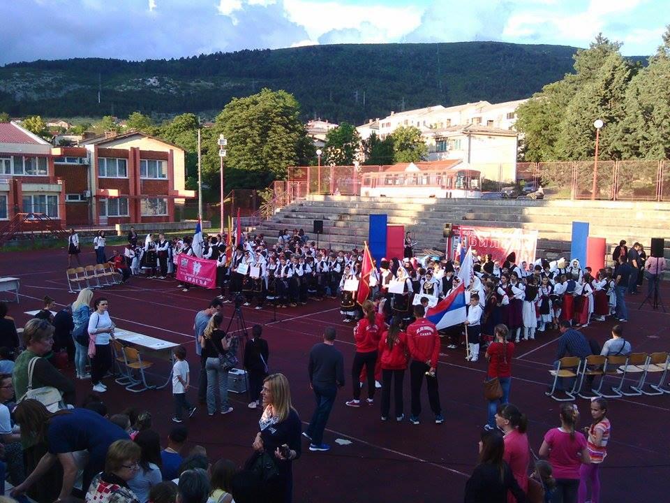 ДЈЕЦА У ОЧУВАЊУ ТРАДИЦИЈЕ: Завршен шести мeђународни фестивал фолклора у Билећи (ФОТО)