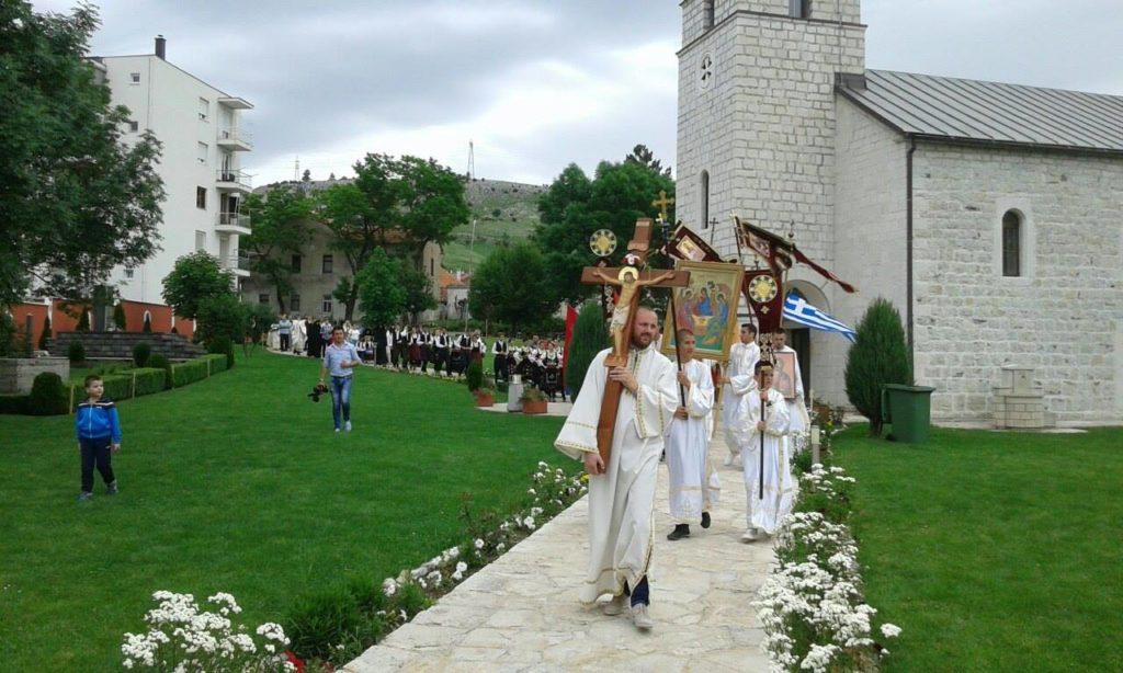 ТРОЈИЧИН ДАН: Гацко прославило крсну славу