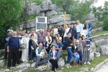 Крст из Јерусалима стигао у Корита