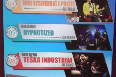 БЕСПЛАТНО НА ЛИПА ФЕСТ: Пилоти, Тешка индустрија и Кикс бенд гостују и Билећи