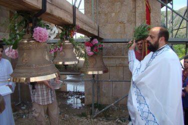 Освештана звона Саборног храма у Мостару