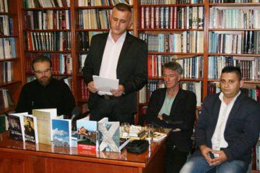 КЊИЖЕВНО ВЕЧЕ У ТРЕБИЊУ: Задужбине Велибора Шиповца