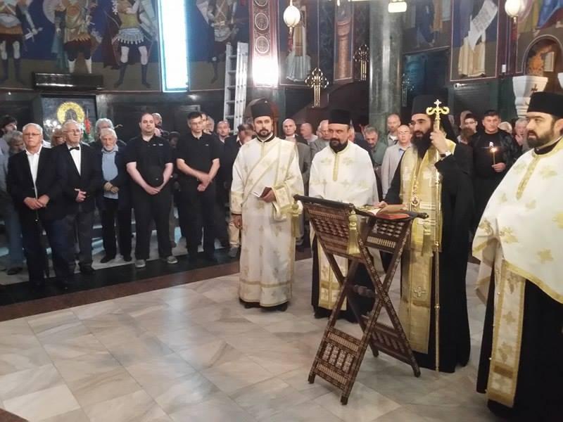 ПОМЕН ЂЕНЕРАЛУ: Владика Арсеније служио парастос Дражи Михаиловићу (ВИДЕО)