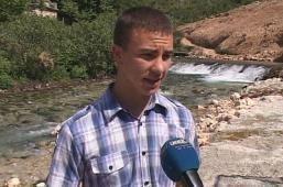 Zoran Samardžić iz Bileće napravio mini-hidrocentralu (VIDEO)