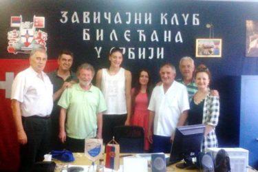 ТИЈАНА У ДРЕСУ ЗАВИЧАЈНОГ КЛУБА БИЛЕЋАНА У СРБИЈИ: Надам се да ћу Херцеговину обрадовати сваке године!
