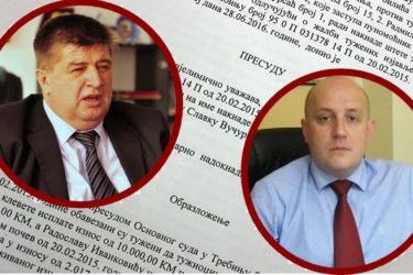 """Бањалучке """"Народне новине"""" због клевете плаћају одштету Вучуревићу и Иванковићу"""