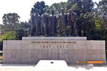 ТРЕБИЊЕ: Откривање бисте народном хероју Милану Зечару