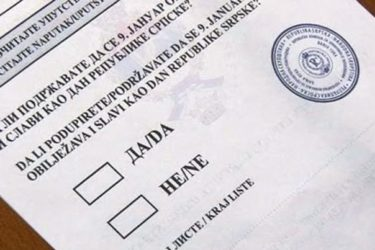 СВЕ СПРЕМНО ЗА РЕФЕРЕНДУМ: 29.000 Требињаца гласаће на 43 гласачка мјеста