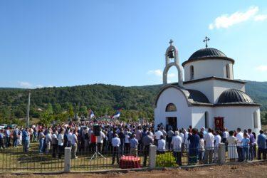 Владика Григорије освештао цркву у Зовом Долу код Невесиња