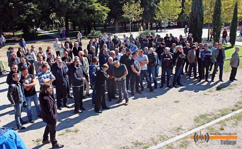 ПРОТЕСТИ ЗБОГ СПОМЕН-БИСТИ: Убице властитог народа не могу бити његови хероји