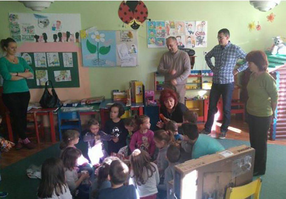 Mikrofin donirao opremu Dječijem vrtiću u Ljubinju