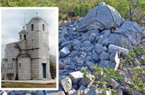 КАКВА ЈЕ БУДУЋНОСТ СРБА У РАВНОМ: Црква Светог пророка Јеремије у Зачули данас само гомила камења