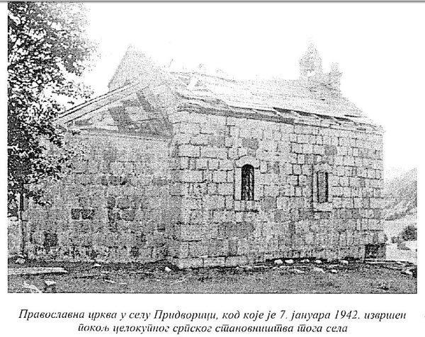 СЈЕЋАЊЕ НА КРВАВИ БОЖИЋ: Придворица код Гацка 1942. године