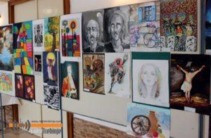 Република Српска из угла малих сликара-Изложени ученички радови