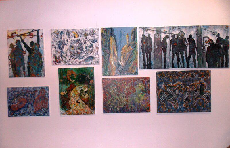 ТРАВУНИЈА, ЗЕМЉА ХУМСКА: Отворена изложба слика Тање Пикуле и Сњежане Домазет