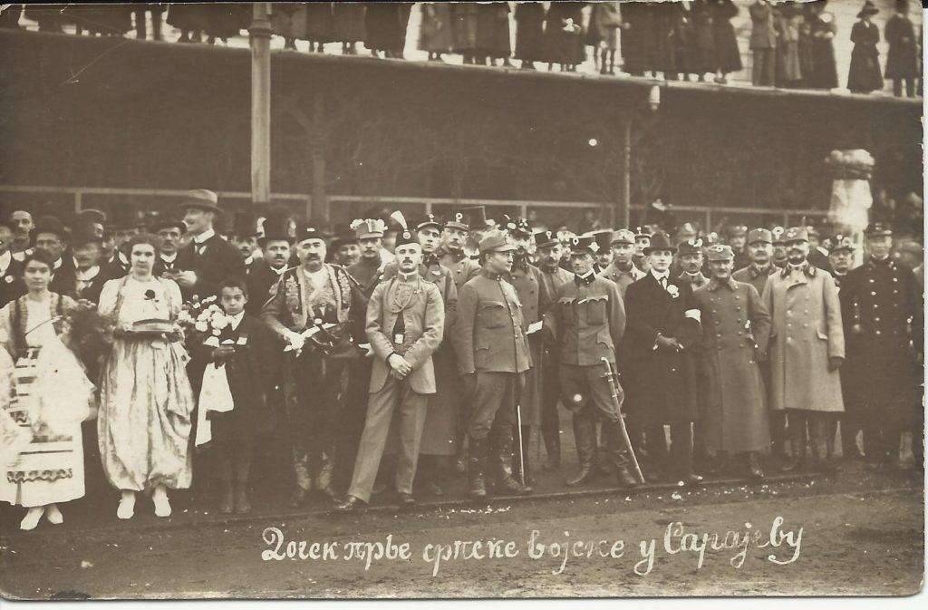 1917-2017: Zabavni narodni koledar sa motivima iz Velikoga rata 06.11.1918
