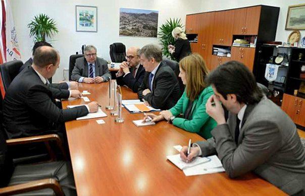 Амбасадори код градоначелника Петровића
