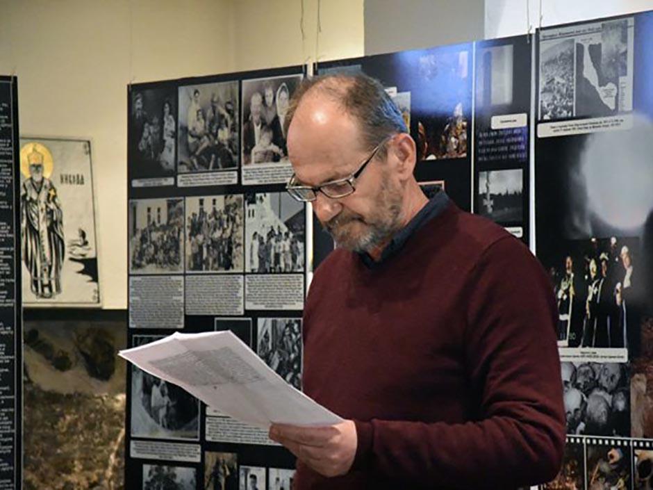ОСЛО: Миленко Јахура отворио изложбу о страдању пребиловачких Срба (ФОТО)