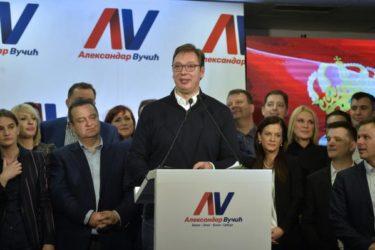 СРБИЈА ДОБИЛА ПРЕДСЕДНИКА У ПРВОМ КРУГУ: Вучић убедљиво са 50+, Јанковић, па Бели…