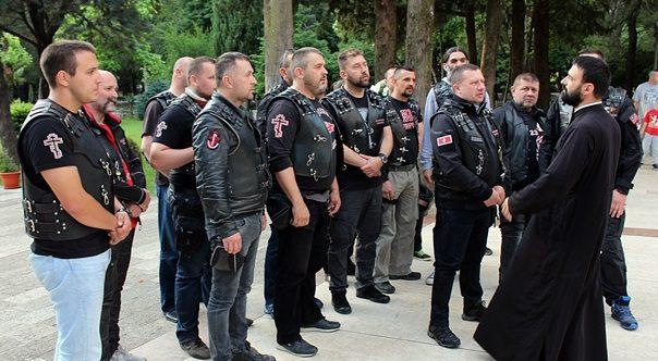 "На ""Путу ћирилице"": Српски ""Ноћни вукови"" стигли у Требиње"