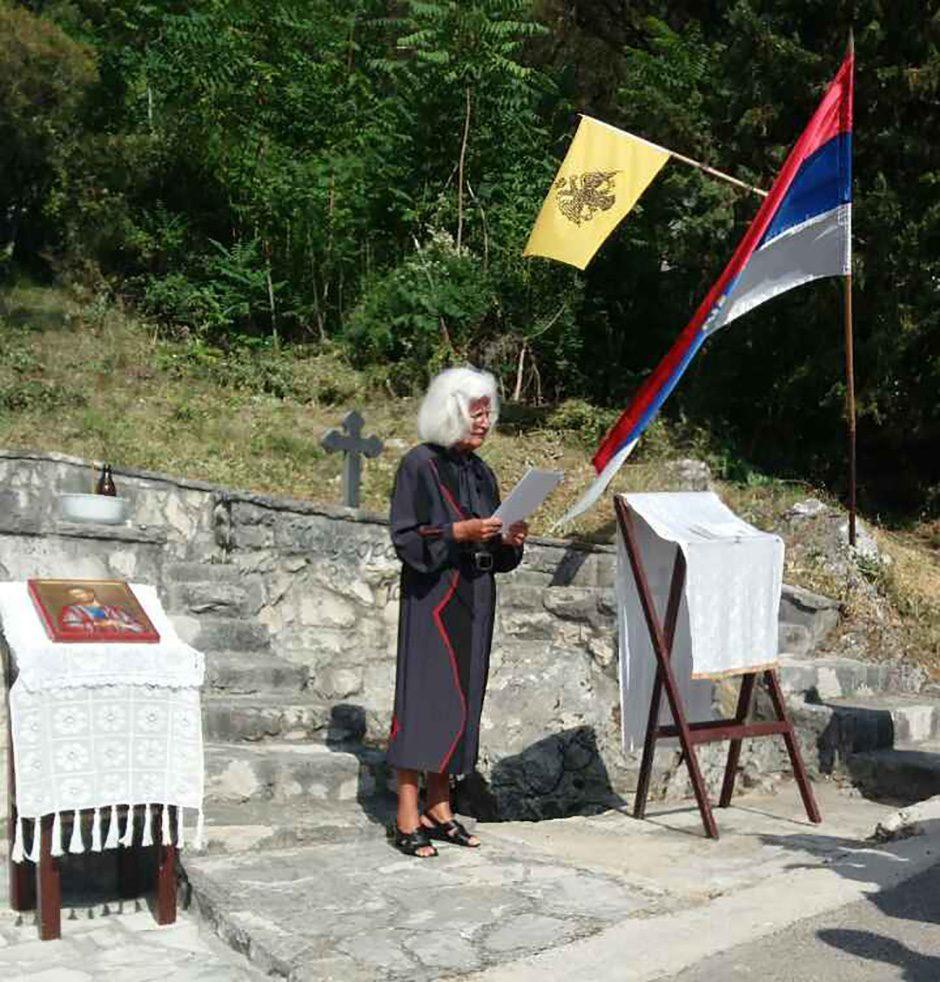 СЛОБОДАНКА ТАНОВИЋ-ШКОРО: Требињем и данас шетају људи који заташкавају усташки злочин над Придворачком јамом