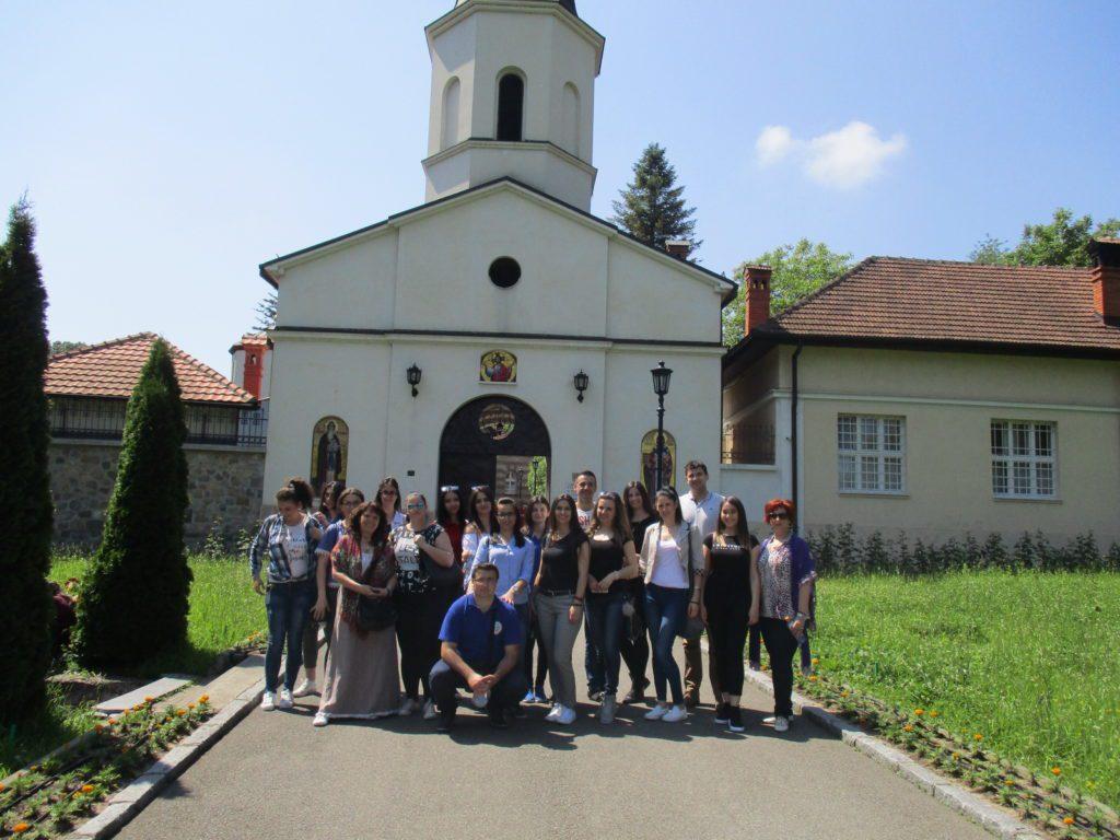 Млади Херцеговци из Новог Сада посјетили српску престоницу (ФОТО)