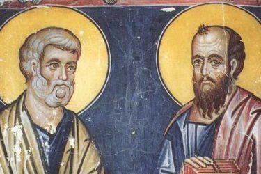 ПЕТРОВДАН – дан светих апостола Петра и Павла