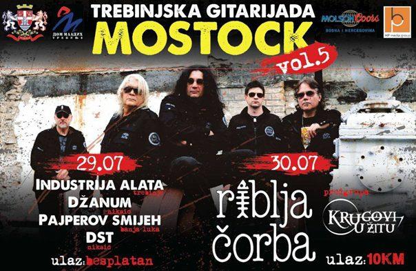"""Vikend u Trebinju u znaku rokenrola: Zvijezde gitarijade """"Riblja čorba"""""""