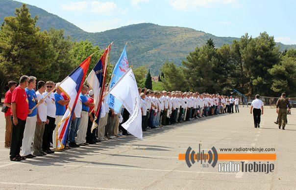Поново у строју: Обиљежено 25 година Требињске бригаде (ФОТО)
