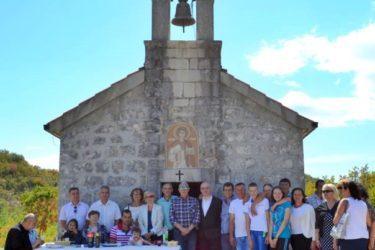 КРШТЕЊЕ МАЛЕ АНЂЕЛИНЕ НА РАДОСТ: Празник св. архиђакона Стефана у Главској