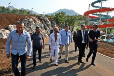 ДОДИК ПОСЈЕТИО АКВА ПАРК: Градићемо аеродром у Требињу који ће да носи име Родољуба Драшковића!