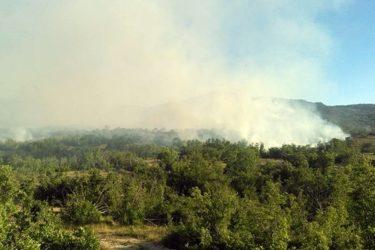 Ватра пријети требињским селима