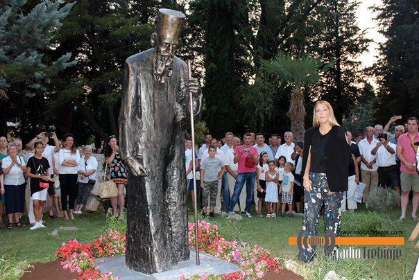 У Требињу освештан први споменик патријарху Павлу у Републици Српској