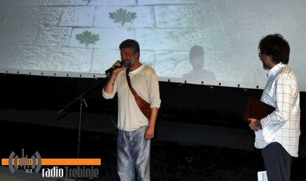 НЕБОЈША ГЛОГОВАЦ НА ЗАТВАРАЊУ ФИЛМСКОГ ФЕСТИВАЛА У ТРЕБИЊУ: Поносан сам што сам из овог града
