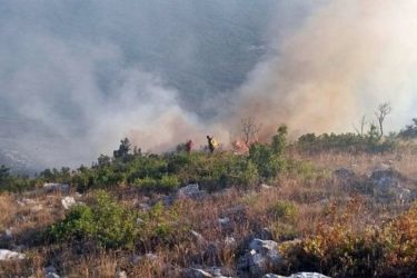 U Hercegovini i jutros bukte požari