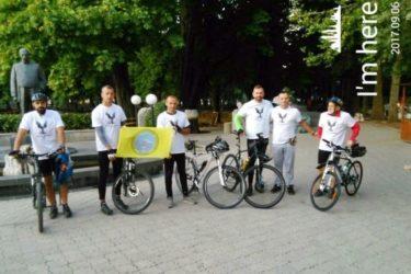 ПОКЛОНИЧКА ВОЖЊА: Бициклима кренули из Требиња до Јасеновца
