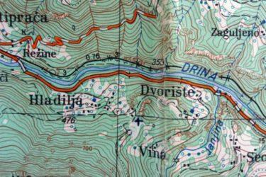 Горан Комар: Ћирилички натпис на Хладиоским брдима код Устипраче (Ново Горажде, РепубликаСрпска)