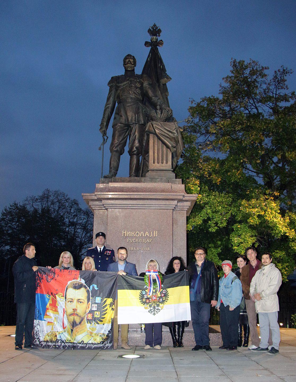 ПАМТИМО И СЛАВИМО СВЕТОСТ ПРАВОСЛАВНОГ ЦАРА: Српски словенофили обиљежили вијек од Октобарске револуције