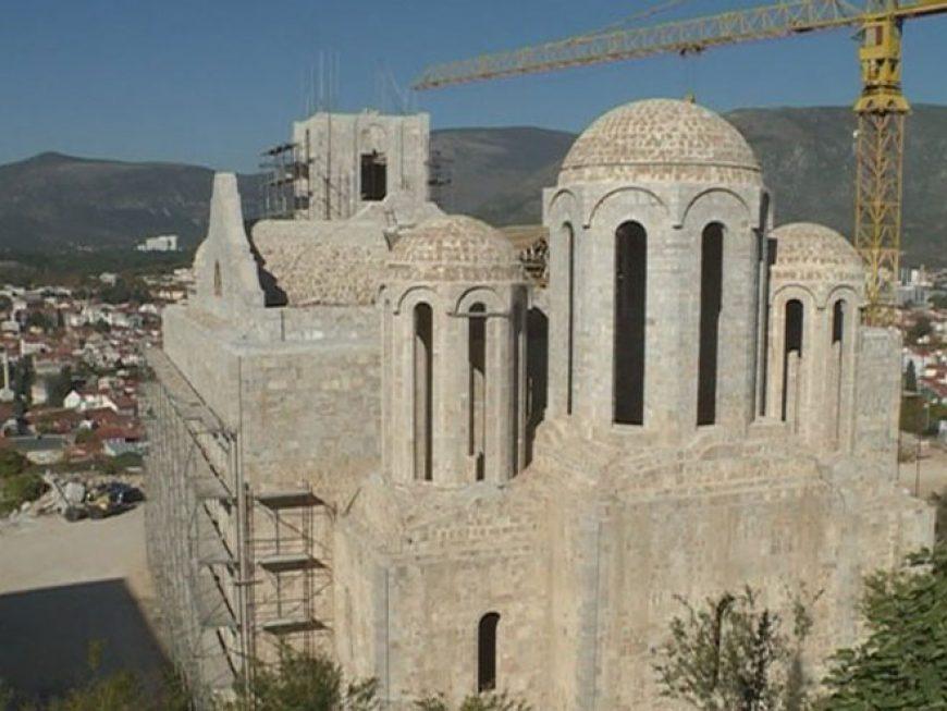 Србија донирала милион марака за обнову Храма Свете Тројице у Мостару