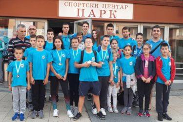ПЛИВАЧИ ЛЕОТАРА БРИЉИРАЛИ У КРАГУЈЕВЦУ: Требињци се враћају кући са 18 медаља
