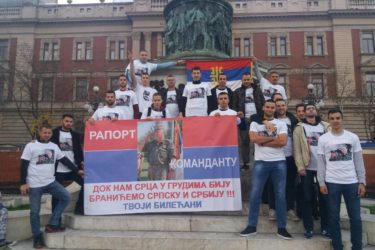 HERCEGOVAČKI STUDENTI U BEOGRADU RAPORTIRALI GENERALU MLADIĆU:  Neka drugi ćute, mi nećemo, niti možemo! (FOTO)