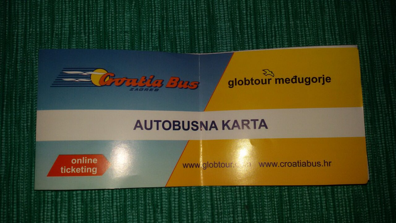 МИТРОВДАНАК, А ХАЈДУЦИ РАДЕ: Шта све пише на аутобуској карти Требиње-Београд?
