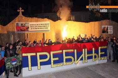 Подршка генералу Ратку Младићу из Требиња