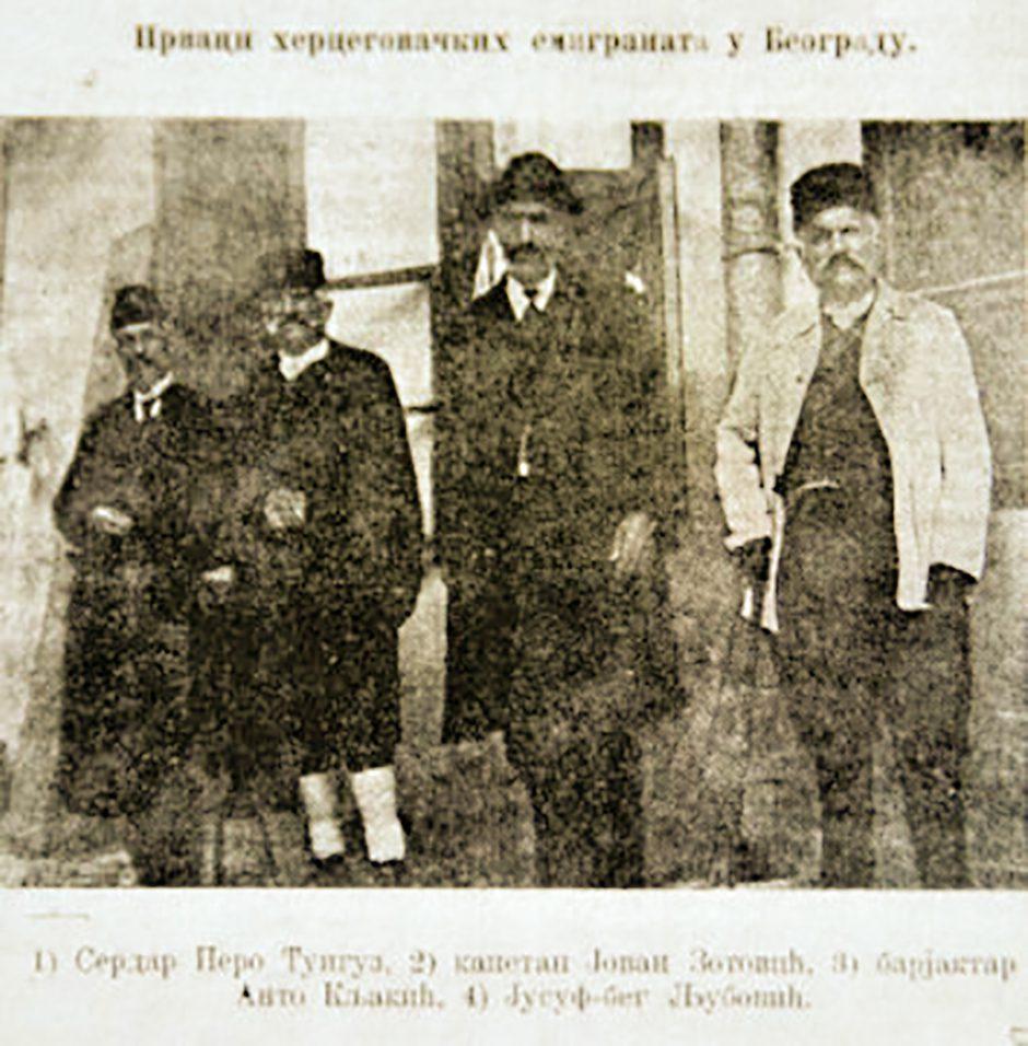 Прокламација босанско-ерцеговачких устаника на Европу из 1882. године